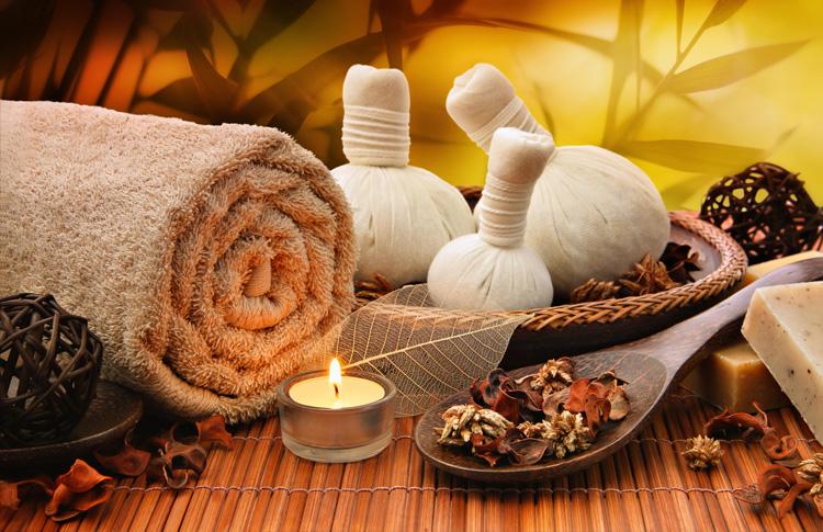 Massagem com pindas - Massagem relaxante